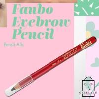 eyebrow fanbo fantastic eyebrow pencil brown pensil alis coklat