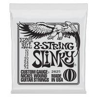 Ernieball Slinky 8-String Nickel Wound Electric Guitar Strings 10-74