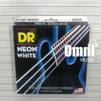 Senar Bass DR String Neon White 5 String - NWB5-45 45-125 collector