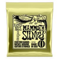 Ernieball Mammoth Slinky Nickel Wound Electric Guitar Strings - 12-62
