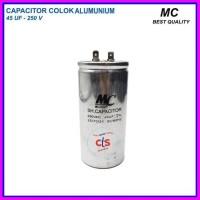 Kapasitor (capacitor) Ac 45 Uf - (spare Aluminium V 250