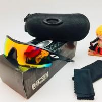 PROMO - Kacamata Sunglass Sepeda OKLAY RADAR 3004 Fire Lens Polarised