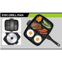Alat Panggangan Panci/Panci pengorengan Grill PAn Magic Pan 5in1