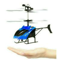 MAINAN ANAK HELICOPTER HELIKOPTER FLYING DRONE WITH HAND SENSOR TANGAN