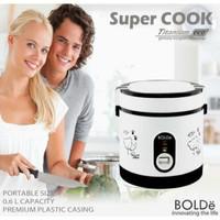 Super COOK Rice CooKeR MiNi 3 In 1 Bolde 0.6L - Original
