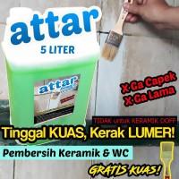 Formula BARU - ATTAR Power Pembersih KERAMIK / WC / Toilet 5 Liter