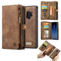 Caseme samsung galaxy S9 Wallet Card Case leather flip cover pouch