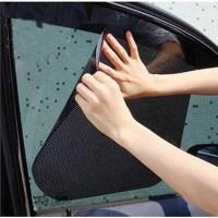 Stiker Sun Shade Pelindung Kaca Jendela Mobil UV Protect Anti Panas