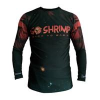 Rushgard Rashguard Longsleeve - Shrimp - Baselayer Compression - M