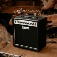 Ampli Gitar & Bass Mandalika Original Hitam / Amplifier Gitar Listrik