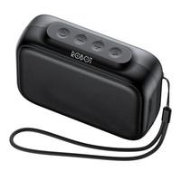 Robot Speaker Bluetooth RB100 Dots 5.0 Black Original Resmi