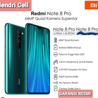 XIAOMI REDMI NOTE 8 PRO 6/64 GB GARANSI RESMI (NFC)