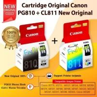 SET Tinta Cartridge Canon PG810 & CL811 original Printer IP2770 MP287