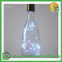 Lampu Bohlam Dekorasi RGB LED Bulb String E27 1.8W - Bottle