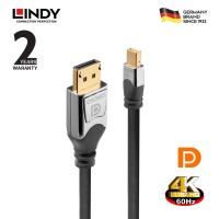LINDY #36314 CROMO Mini DisplayPort to DisplayPort Cable, 5m