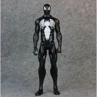 Action Figure Marvel Model Venom 29CM Mainan Anak Spiderman Black