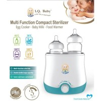 I.Q. BABY Multi function baby food,milk warmer,egg cooker & sterilizer
