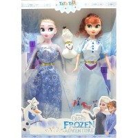 Mainan Boneka Disney Frozen Princess Elsa & Anna - 1 Set