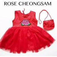 Dress Cheongsam Imlek Xincia Anak