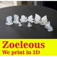 Print 3D Durable Resin Kualitas Premium