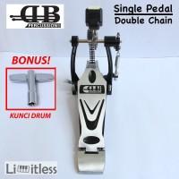 Single Pedal Drum Double Chain DB Percussion DPD-669 Original