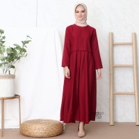 Gamis PLEATED - Emikoawa / Dress / Maxi /BUSUI/ Souvenir / Berkualitas