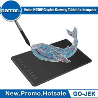 Huion H950P Graphic Drawing Tablet for Komputer with free battery pen