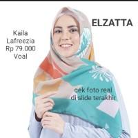 Hijab Jilbab Segi Empat KAILA LAFREEZA Scraf by ELZATTA Original