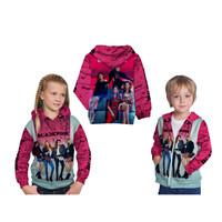 Jaket sweater Anak BLACK PINK 01 Custom Fullprint