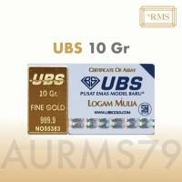 Emas UBS 10 Gram Logam Mulia, Termasuk Sertifikat