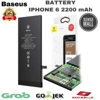 BATT BATERAI BATTERY BASEUS IPHONE 6 / 6G / 2200MAH ORIGINAL BASEUS