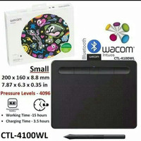 Wacom Intuos CTL-4100WL with Bluetooth Drawing Tablet