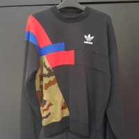 Jaket Sweater Adidas Camo Original 2nd Murah