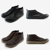 Sepatu Pria Sneakers Cowok Casual Dane and Dine Gret, 2 Pilihan Warna