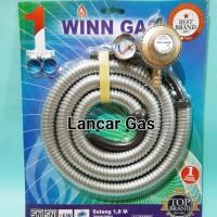 REGULATOR METER+SELANG PAKET WINN GAS