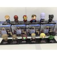 Action figure Marvel the Avengers full team 12pcs mini egg size MURAH