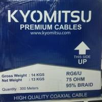 Kyomitsu Kabel Coaxial RG 6/U