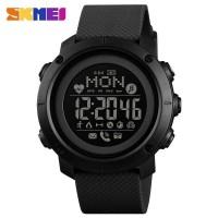 Smart Watch SKMEI 1512 Original Bluetooth Rechargeable Anti Air Black