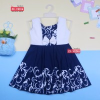 Dress Clairine uk Bayi - 7 Tahun / Baju Anak Perempuan Murah Dres Lucu - Bayi 3-12 Bulan, random