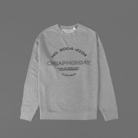 Cheap Monday Crewneck Sweatershirt Grey est 2004-2104 (over my dead b