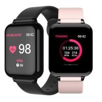 B57 smart watch color screen smartwatch IP67 waterproof blood Murah