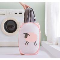 TP082 Keranjang Lipat Baju Kotor Dirty Clothes Folding Laundry Basket