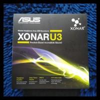Asus Xonar U3 USB Soundcard BERGARANSI