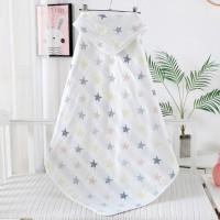 Ecobaby Baby Blanket Halus Double Fleece 100% Cotton Motif Bintang