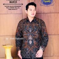 Pranadipa Manis Kemeja Pria Batik Solo Full Furing By RajaSakti