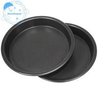 10 in 1 Panci Bulat Anti Lengket untuk Pizza / Pie / Tray