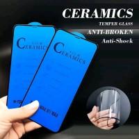 GLASS CERAMIC 12D FULL LENTUR OPPO REALME C2 A1K