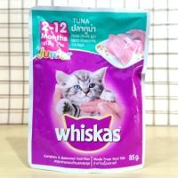 Whiskas pouch junior tuna 85gr