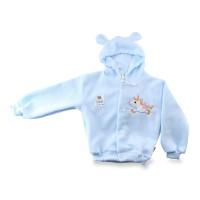 Jaket Bayi dengan Topi Lusty Bunny / Mantel Topi Baby Newborn Hangat