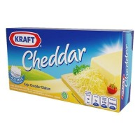 Cheese Keju Cheddar Kraft 165 GR Processed Cheddar Cheese